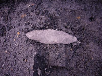 旧石器時代終末期の石槍です。