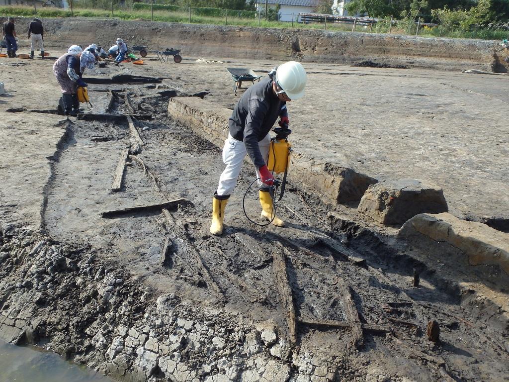 石川条里遺跡 平成30年度発掘調査情報(2)