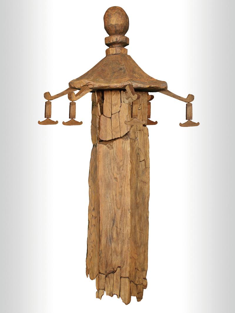 社宮司遺跡の六角木幢