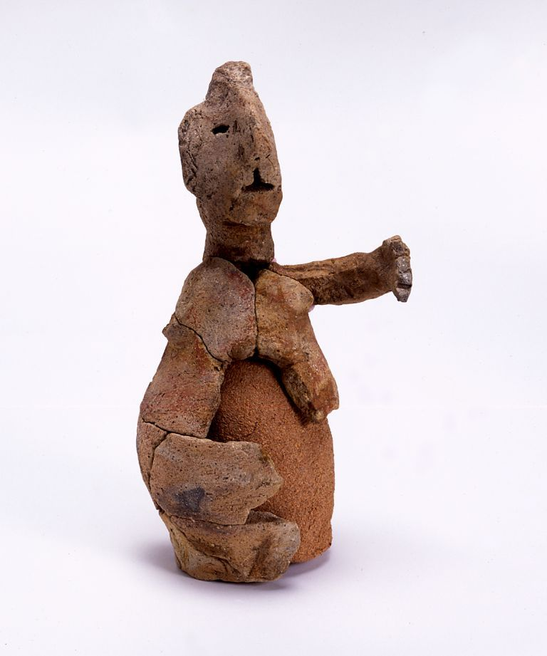 西一里塚遺跡群の人形土器