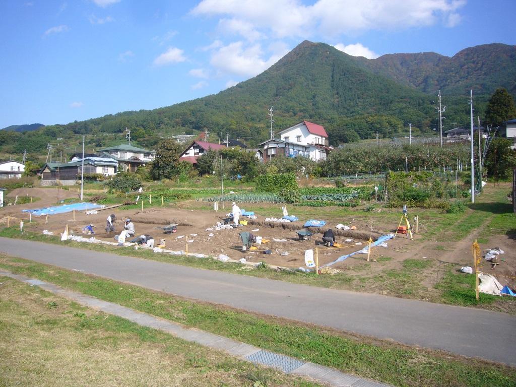 柳沢遺跡調査情報(1)