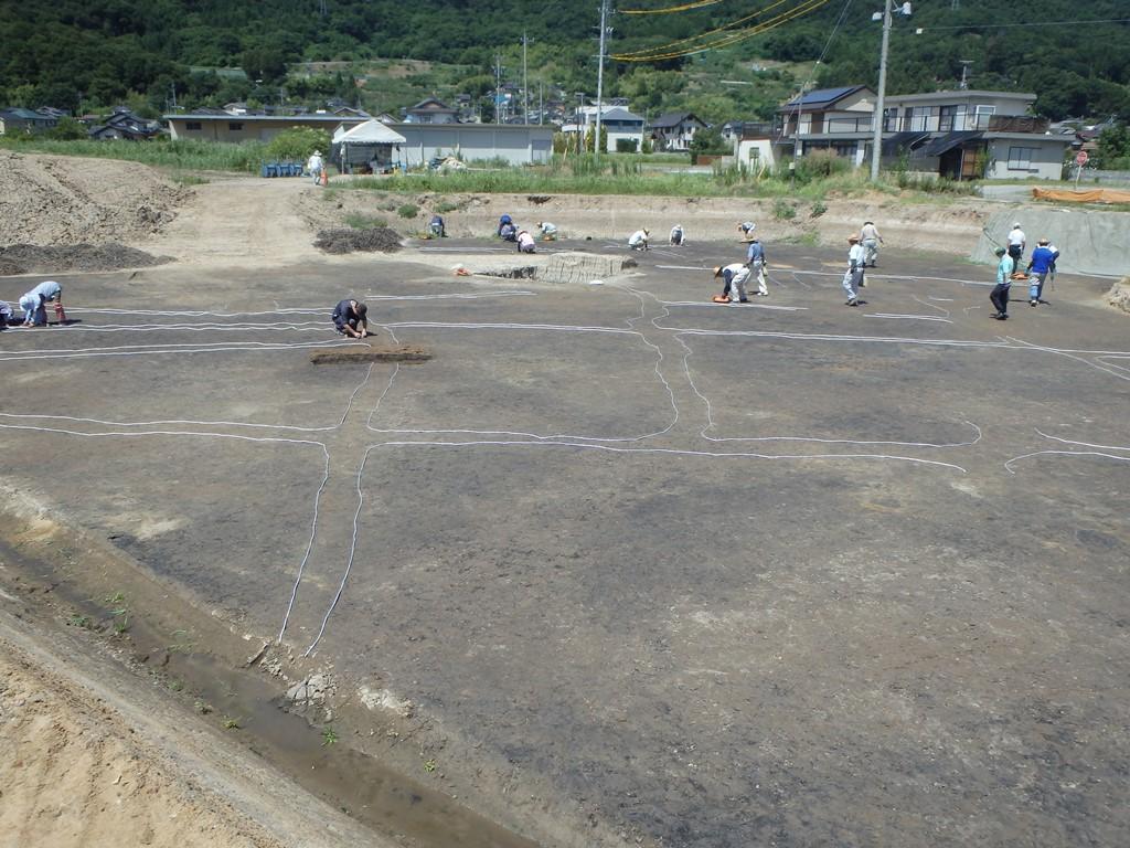 石川条里遺跡 平成30年度 発掘調査情報(1)